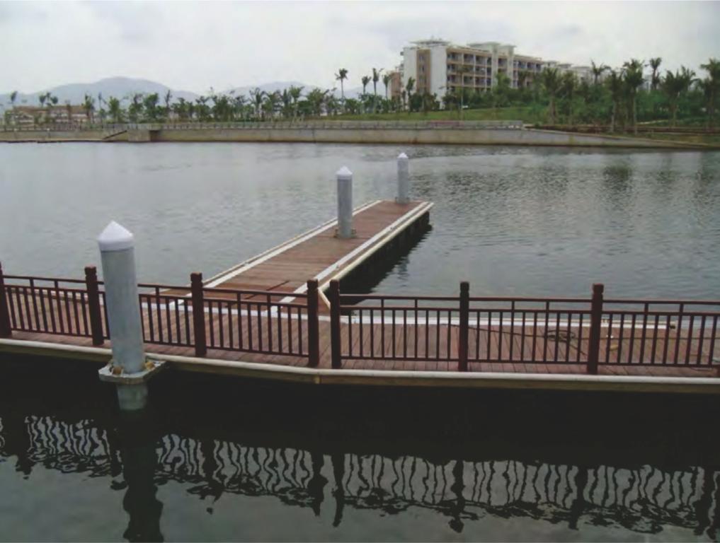 Dermaga Jembatan Apung Alumina 11