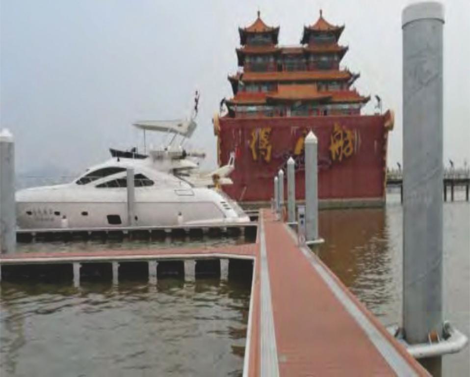 Dermaga Jembatan Apung Alumina 14