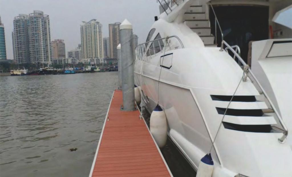 Dermaga Jembatan Apung Alumina 16