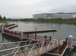 Dermaga Jembatan Apung Alumina 12