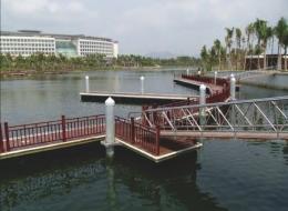Dermaga Jembatan Apung Alumina 13