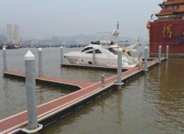Dermaga Jembatan Apung Alumina 15