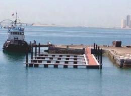 Dermaga Jembatan Apung Alumina 17