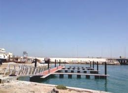 Dermaga Jembatan Apung Alumina 18