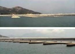 Dermaga Jembatan Apung Alumina 7
