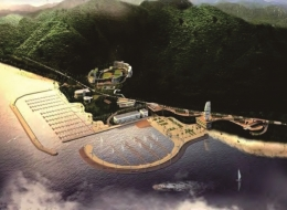 Dermaga Jembatan Apung Alumina 8